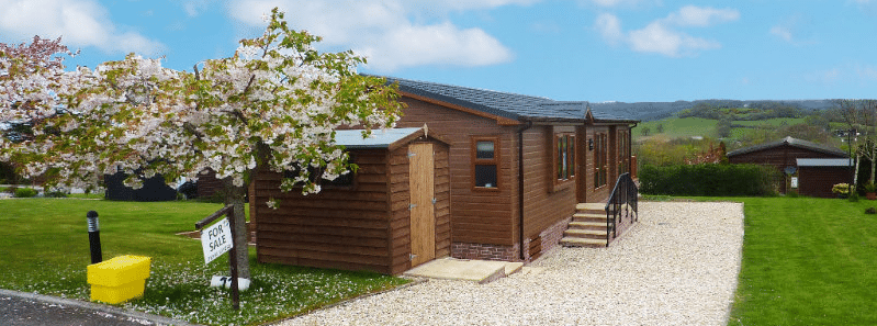 Residential park homes for sale in Devon
